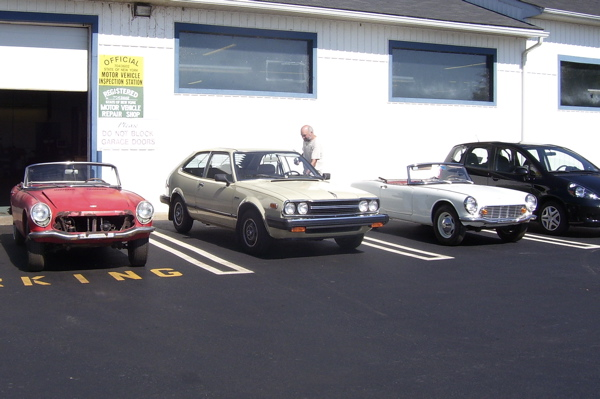 Formula H Motorworks in Middletown, NY, 2008 S Car Gathering