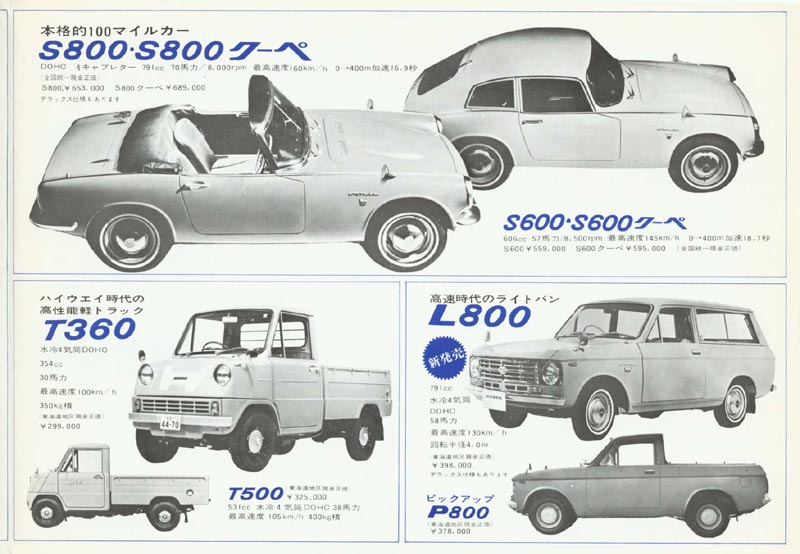 Honda Full Line Up Brochure Page 3