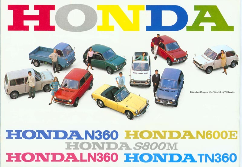 Honda Full Line Up Brochure Page 1