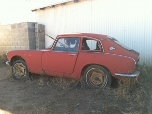 1966 Honda S600 Coupe project car-no engine