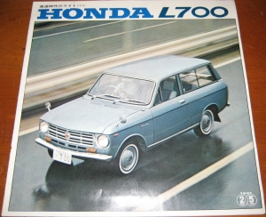 Honda L700 Original Sales Brochure