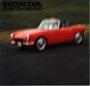 Honda S360/S500/T360 Original Sales Brochure
