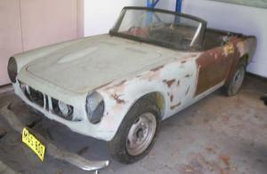 For Sale Honda S800 1967 MGS-800
